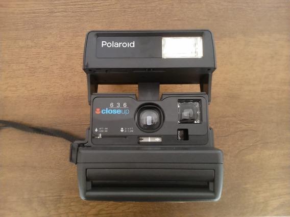 Câmera Polaroid 636 Closeup Não Testada