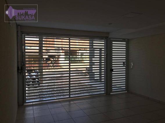 Cobertura Com 3 Dormitórios À Venda, 100 M² Por R$ 372.000 - Parque Novo Oratório - Santo André/sp - Co0345