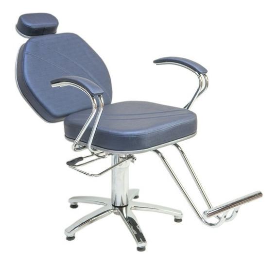 Poltrona Cadeira Gabi Reclinavel Moveis Salao Cabeleireiro