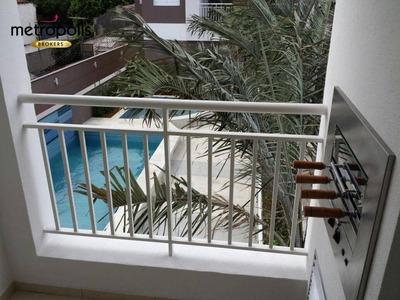 Apartamento Com 2 Dormitórios À Venda, 65 M² Por R$ 360.000 - Fundação - São Caetano Do Sul/sp - Ap1947