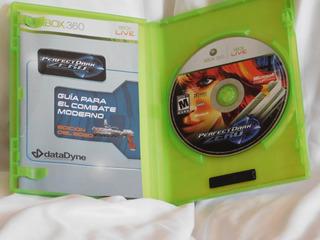 Perfect Dark Zero Para Xbox 360 ¡envío Gratis!
