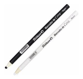 Kit Pelikan Lápis Dermatográfico Preto + Branco
