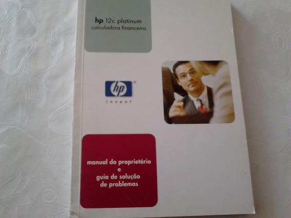 Livro Hp-12c Platinum Calculadora Financeira