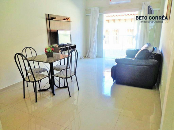 Guarujá, Enseada - Lindo Apartamento Reformado, Á 150 Metros Da Praia. - Ap0316