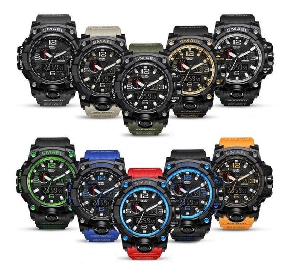 13 Relógio Masculino Smael 1545 + 5 Skemei 9075 Feminino