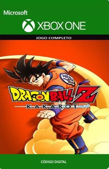 Dragon Ball Z Kakarot Xbox One Código De 25 Dígitos
