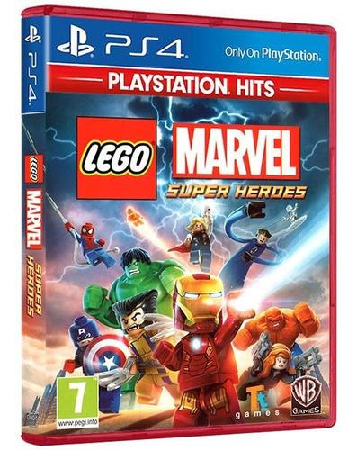 Imagem 1 de 7 de Lego Marvel Super Heroes - Playstation Hits Ps4 [ Lacrado ]