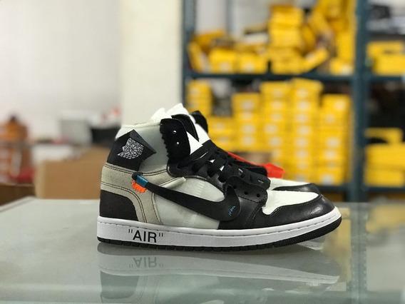 Tenis Nike Air Jordan Off White Envió Gratis Máxima Calidad