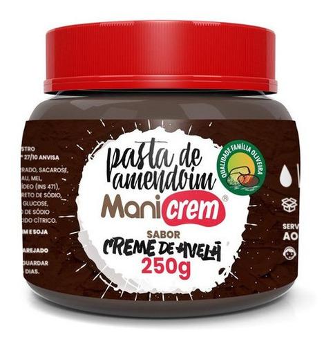 Imagem 1 de 2 de Manicrem Pasta De Amendoim Sabor Creme De Avelã - 250g