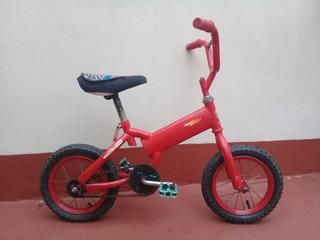 Bicicleta Infantil Rodado 12 Rayo Mc Queen