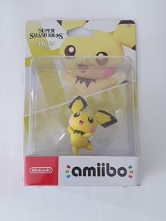 Amiibo Pichu Super Smash Bros