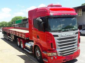 Scania Highline R420 C/ Ls Carga Baixa Randon