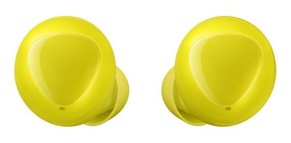 Fone de ouvido sem fio Samsung Galaxy Buds amarelo