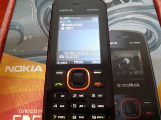 Celular Nokia 5220 Xpressmusic, Funcionamento Ok, Atenção!!!