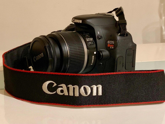 Camera Canon Eos Rebel T3i Kit Completo