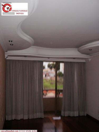 Imagem 1 de 20 de Apartamentos À Venda  Em Jundiaí/sp - Compre O Seu Apartamentos Aqui! - 1049410