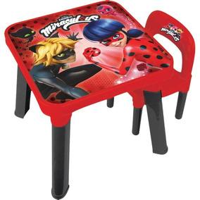 Mesinha Ladybug C/cadeira