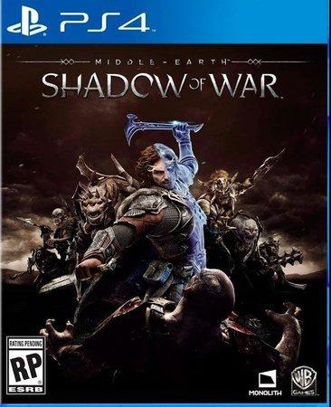 Sombras Da Guerra -ps4