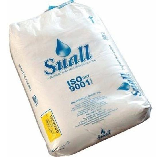 Sulfato Alumínio Piscina 10kg Tratar Água 100% Limpa- Suall