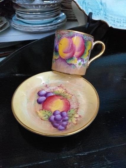 Pocillo Café Colección Paragon England Frutas