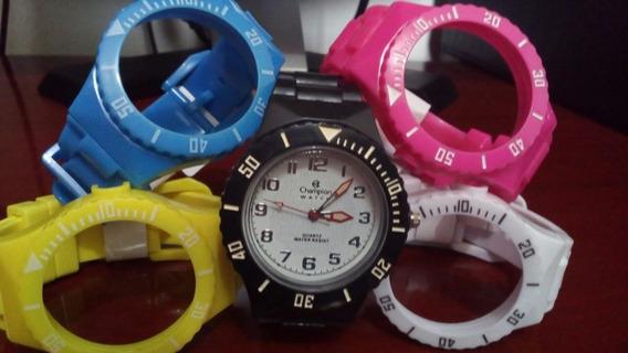 Relógio Troca Pulseira Retrô Vintage Novo Promoção
