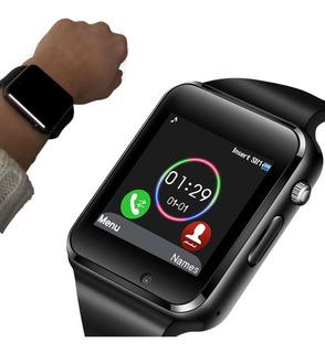 Relogio A1 Smartwatch Android Ios Bluetooth Chip Inteligente