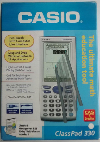 Calculadora Graficadora Touch Casio Cas Classpad 330 Program