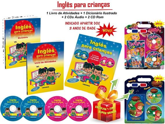 Inglês Para Crianças Atividades Educação Infantil + Brinde