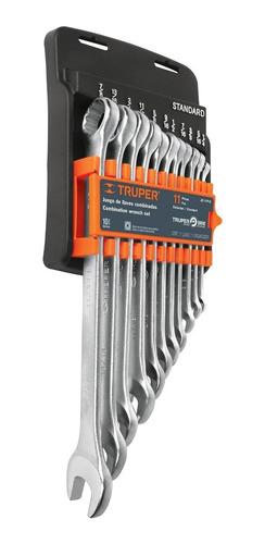 Juego Llaves Combinada Standard G 11 Pz Truper 15781