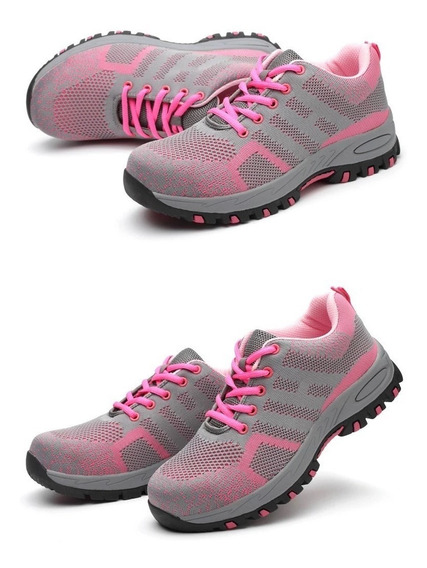 Zapatos De Seguridad Hombre Y Mujer! Meses Sin Intereses