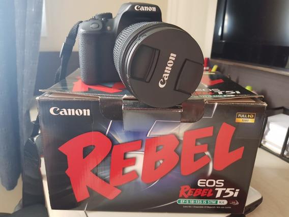 Canon T5i 18-135 Mm (na Caixa) + Bolsa