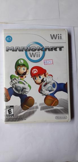 Jogo Midia Fisica Nintendo Wii Mario Kart Wii A825