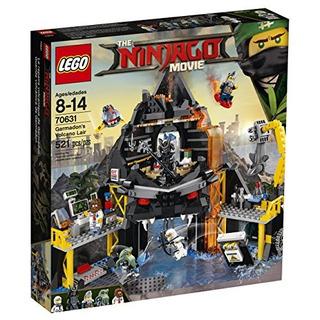 Lego Ninjago Movie Guarida Volcánica De Garmadon 70631