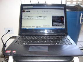 Notebook Megaware Funcionando Perfeitamente Só Bat.viciada.