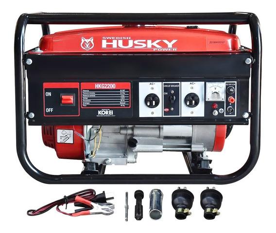 Generador Planta De Luz Husky 2,200w 6.5hp
