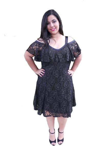 Vestido De Renda Ciganinha Plus Size Até 54 Feito Sob Medida