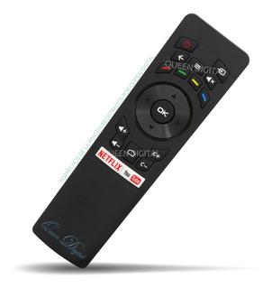 Control Remoto Para Noblex Philco Sansei Smart Tv Netflix