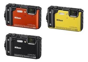 Camera Nikon Coolpix W300 16mp Prova D Agua Gps Wifi 4k Sp