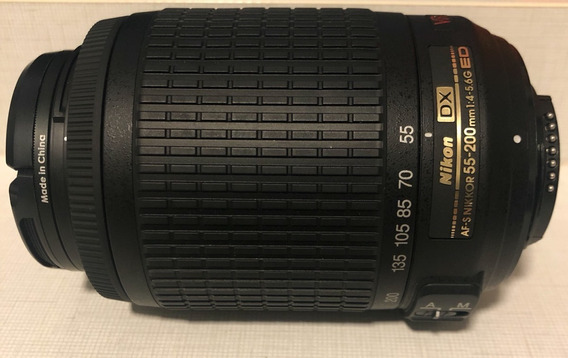 Lente Nikon Af-s Nikkor 55-200mm