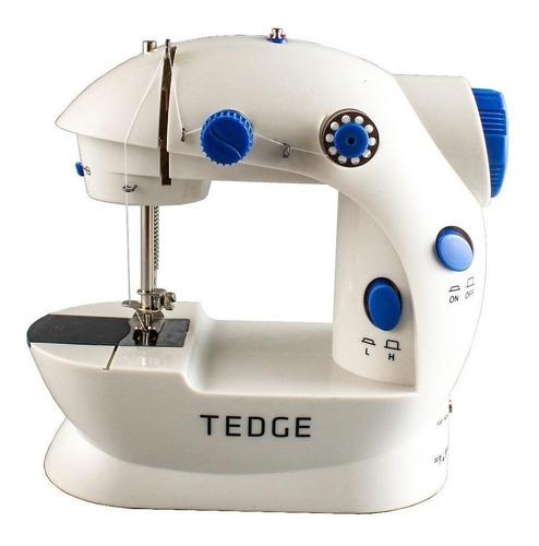 Imagen 1 de 7 de Máquina de coser recta Tedge FHSM-202 portable blanca 100V-240V