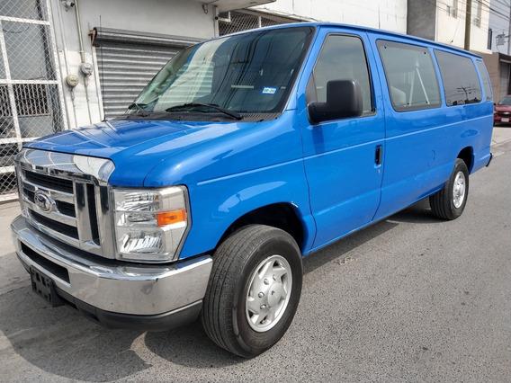 Ford Econoline E-350 Xlt 15 Pasajeros Mod.2014 $248500
