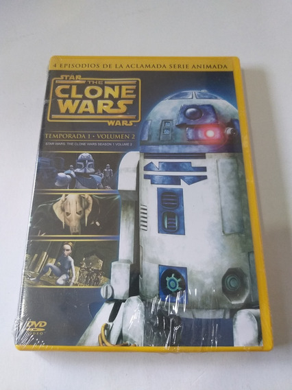 Star The Clone Wars Temp.1 Vol.2