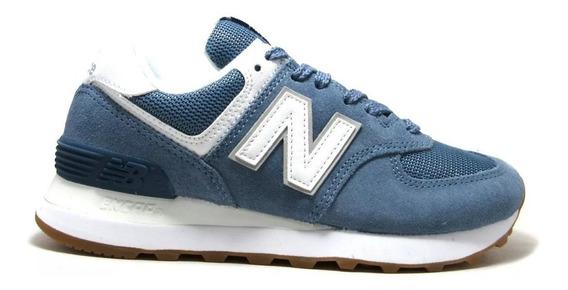 Zapatillas New Balance 574 - Azul - Nueva Temporada