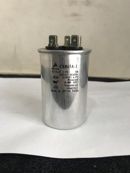 Capacitor Epcos Cbb65a-1 250 Vac 35+6uf-1001 Coisas