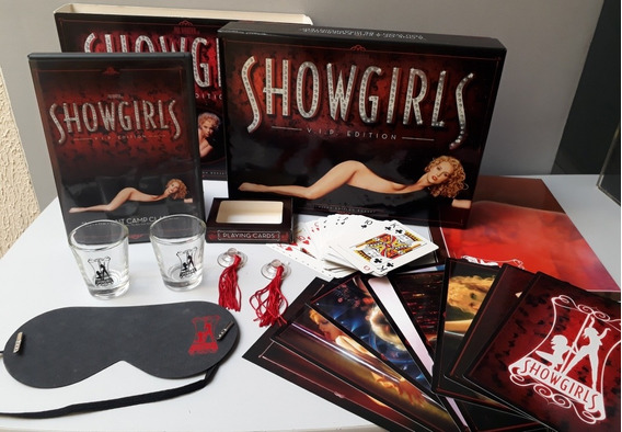Dvd Box Showgirls Vip Limited Edition Gift Set