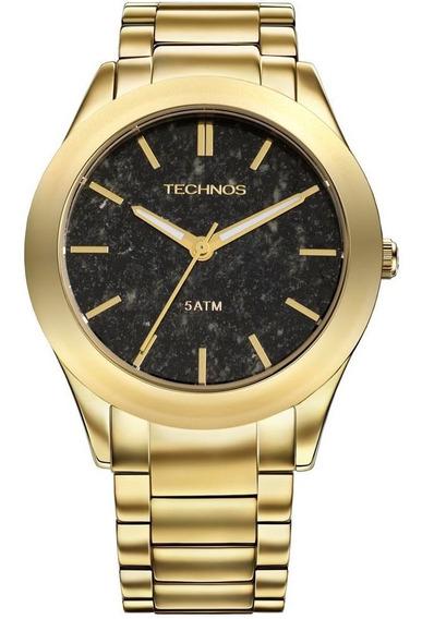Relógio Technos Feminino Dourado Linha Stone 2033af/4p