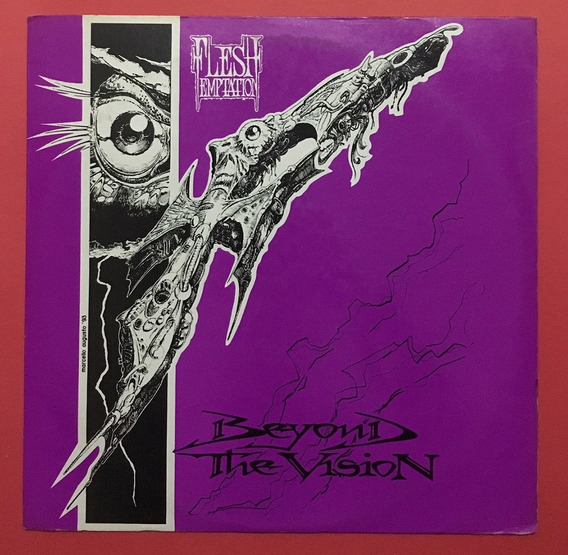 Flesh Temptation - Beyond The Vision - Lp - 1993