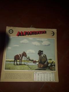 Revista Almanque Publicidad Alpargata Año 1935 Coleccion