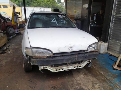 Imagem 1 de 10 de Hyundai Accent 1.5 12v 1995 Sucata Somente Peças