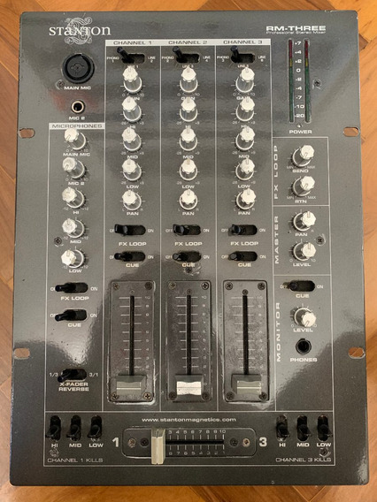 Mixer Stanton Rm Three Professional Pioneer Technics